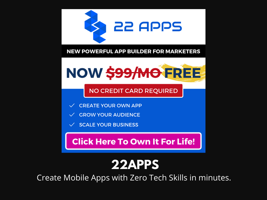 22 Apps NEW LAUNCH